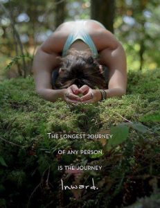 The longest journey of any person is the jurney inward